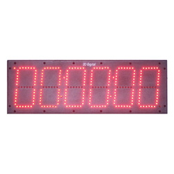6 Inch 6 Digit Digital Count Up Countdown Timer