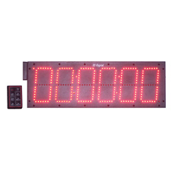 6 Inch 6 Digit Digital Count Up Countdown Timer wireless remote
