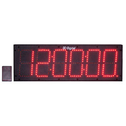 DC-606S-W-6-Inch-Digit-Time-of-Day-Clock-RF-Wireless
