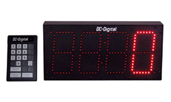 (DC-60C-Term-Key-Pace) 6.0 Inch LED Digital Production Pace Timer-Counter with 24 Keypad Programmer and Controller (OUTDOOR)