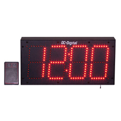 DC-60S-W-6-Digit-RF-Wrieless-Remote-Controlled-Outdoor-Clock