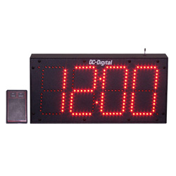 DC-60S-W-IN-6-Digit-RF-Wrieless-Remote-Controlled-Clock