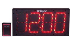 DC-60S-W-RF-Wireless-Digital-LED-Clock-Outdoor-Indoor-6-Inch