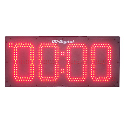 8 Inch outdoor Digital Count Up CountDown Timer