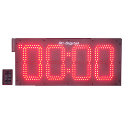 8 Inch outdoor Digital Count Up CountDown Timer Wireless Remote