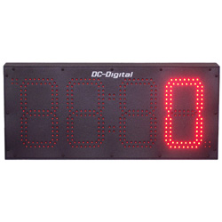 8 Inch outdoor Digital Count Up Days Timer