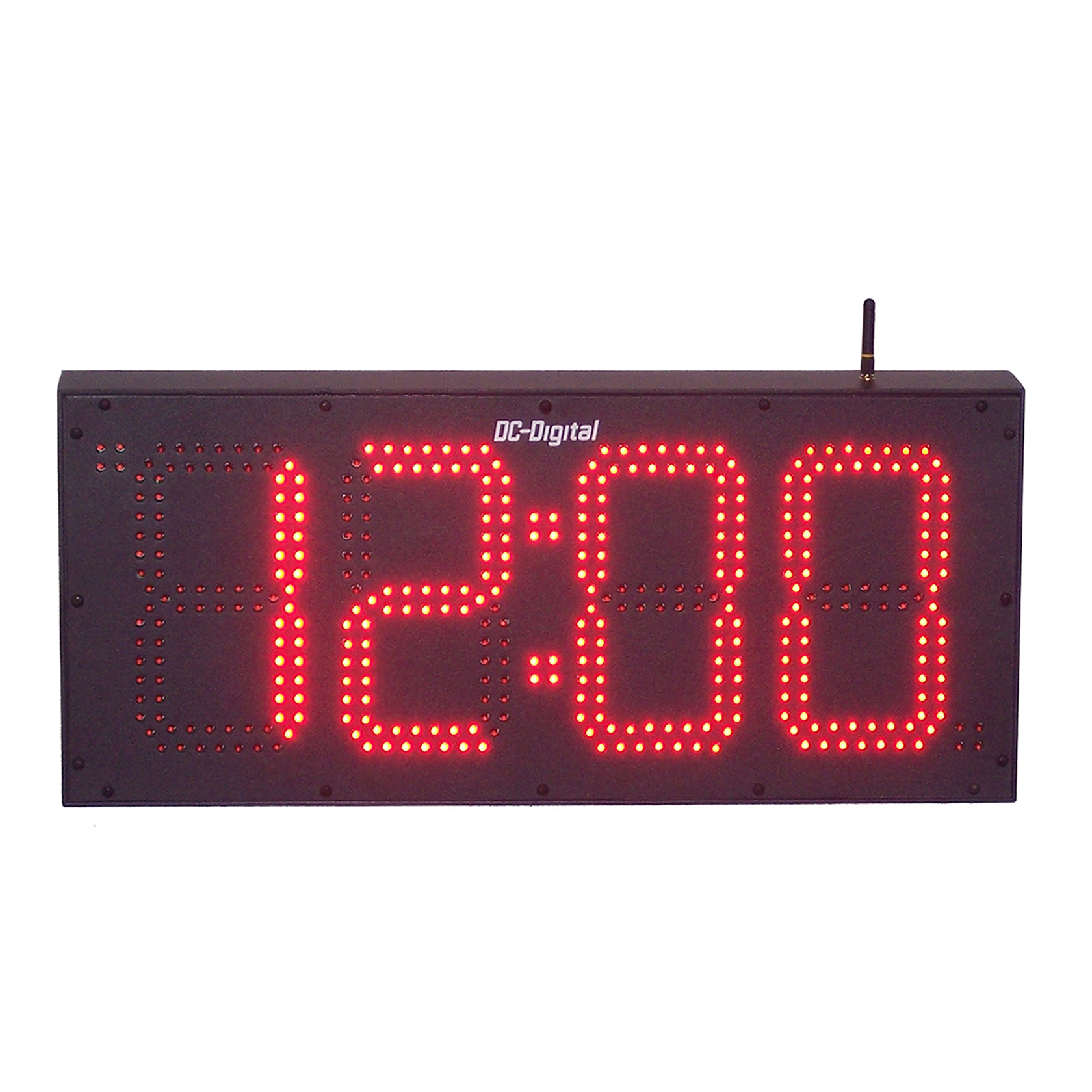 (DC-80T-DN-BCD) 8.0 Inch LED Digital, BCD Rotary Set Switches, Multi-Input (PLC-Relay-Switch-Sensor) Controlled, Countdown Timer (OUTDOOR) 3