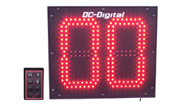 (DC-802C-W-IN) Customer Now Serving, 8 Inch LED Electronic Digital Counter, Wireless RF Controlled (INDOOR)