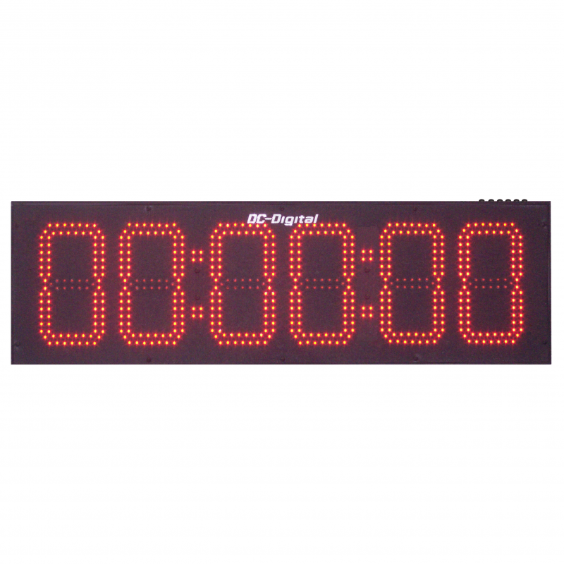 Dc 806t Dn Push Button Controlled Digital Countdown Timer 8 Inch