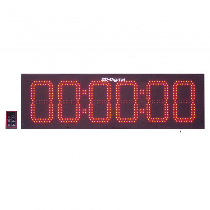 DC-806UTW-RF-WIreless-Remote-Countdown-Count-UP-Clock-Timer-8-Inch-Digits