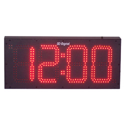 Industrial Digital Wall Clock