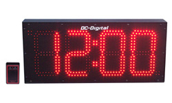 DC-80S-W-RF-Wireless-Digital-Clock-Outdoor-Wall mount-8-Inch