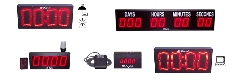 DC-Digital LED Countdown Timers Home Page Collage-2