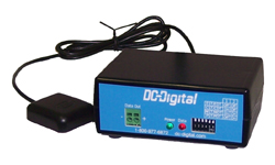 (DC-GPS-MI-2-WR-Master) Master Clock Transmitter with GPS Receiver Synchronized, 4-Wire Data Output
