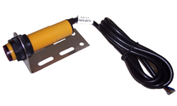 (DC-IR-SENS-1.0-NPN) Diffused Reflective Infrared Object Proximity Sensor Switch, NPN, N.O. N.C., 0-10 inches, 6-36V with Cable and Mount