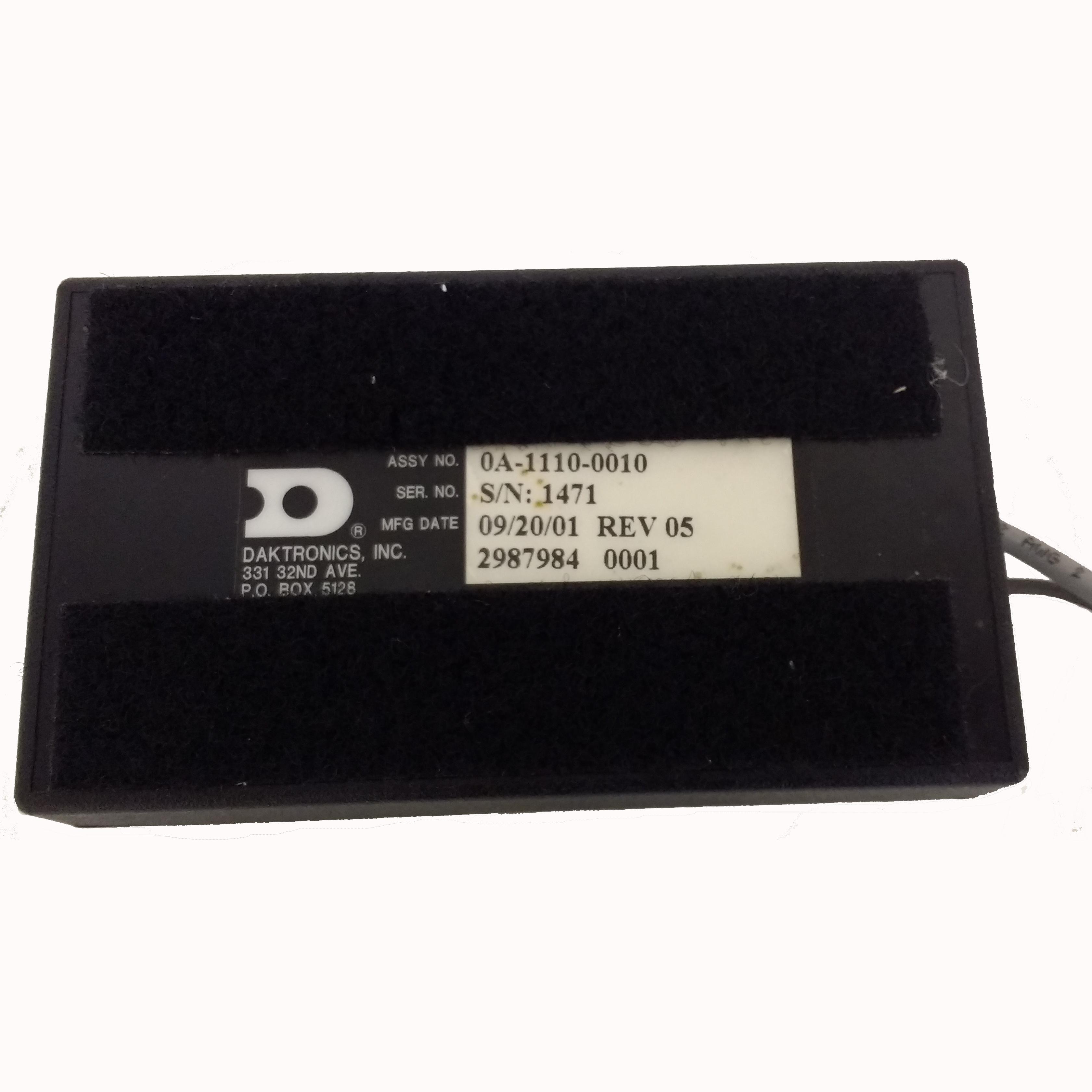 (0A-1110-0010) Daktronics Gen III Radio Receiver (Refurbished) 1