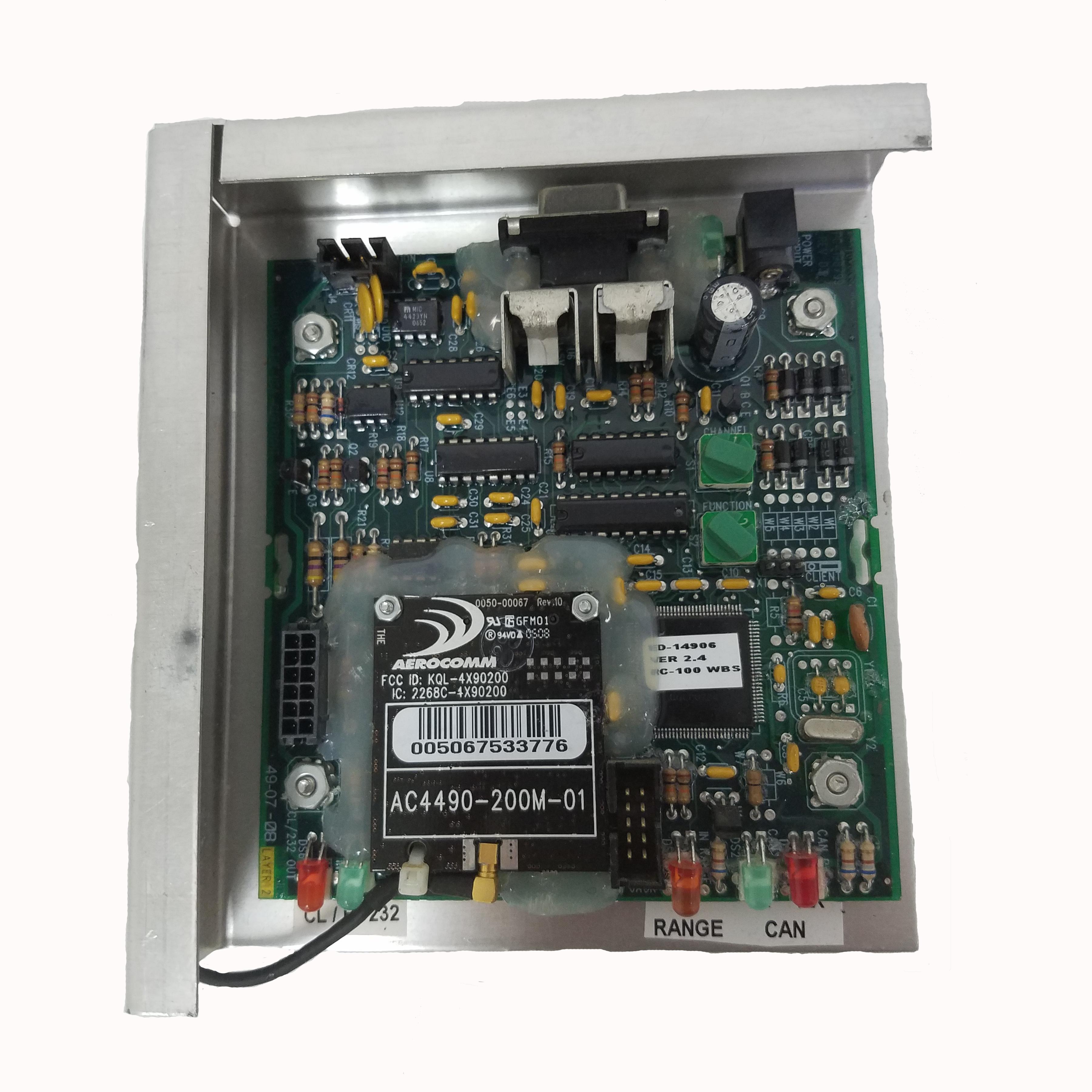Daktronics Wireless Receiver Wire Center Am Microphone Circuit Diagram Tradeoficcom 0a 1110 0135 Rc 100 Base Station New Rh Dc Digital Com