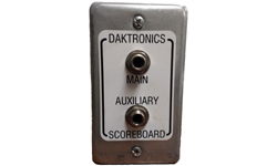 (0A-1196-0013) Daktronics Scoreboard Wired Dual Input J-Box