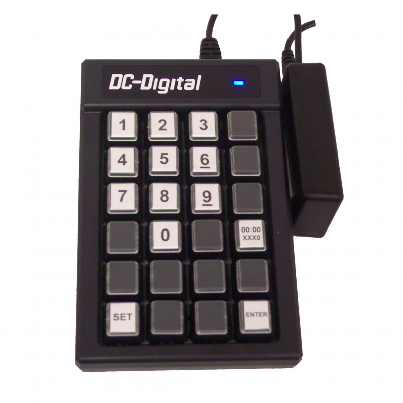 (DC-150-Static-Key-W) 15 Inch LED Digital, Wireless Remote Keypad Controlled, Static Number Display (OUTDOOR) 2