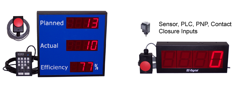 Production Line-Counters-Efficiency-Pace-Takt-Manufacturing-LED-DIsplays