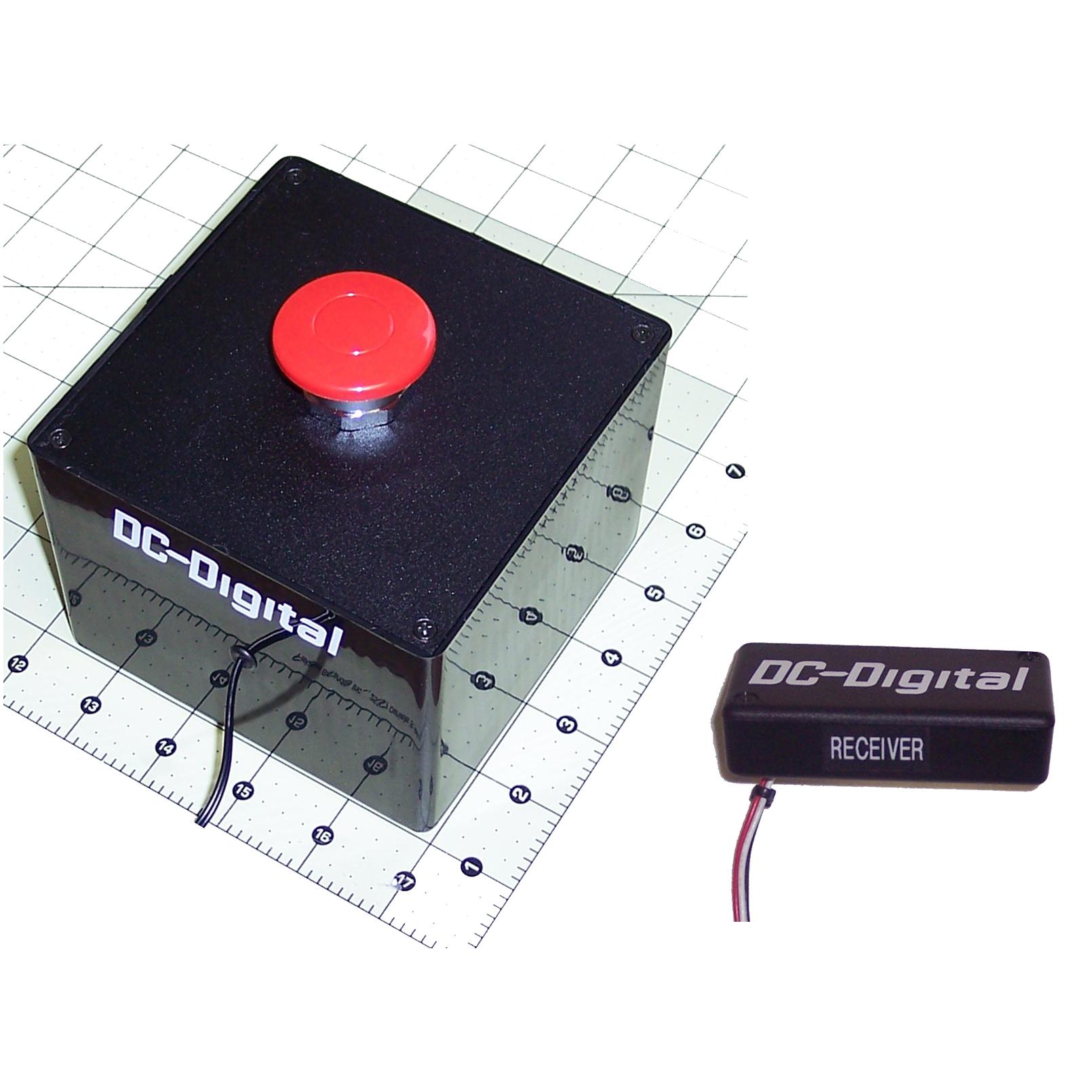 Sw 1 Hd Red W Kit Rf Wireless