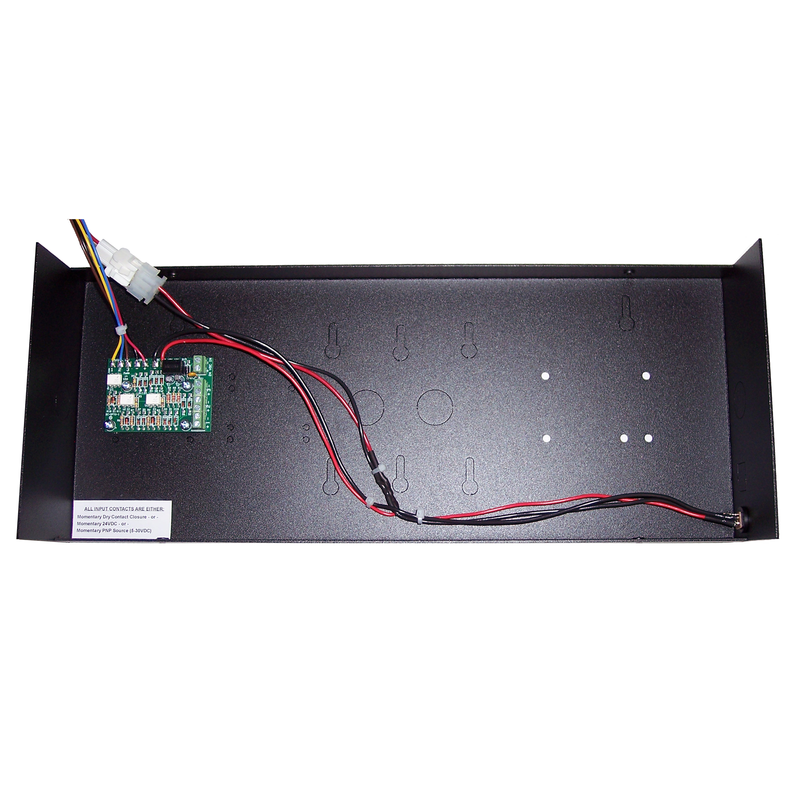 (DC-40T-UP-TERM) 4.0 Inch LED Digital, Multi-Input (PLC-Relay-Switch-Sensor) Controlled, Count Up Timer, Shift Digit Technology 1