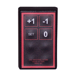 (WRC-4T) 2.4 Ghz, 64 mW, Handheld RF Wireless Remote, Counters