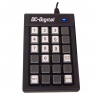 Number-Display-Wired-Keypad