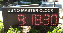 USNO Atomic Digital Outdoor Clock Washington DC