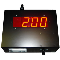NBA Referees decision digital Red LED countdown timer