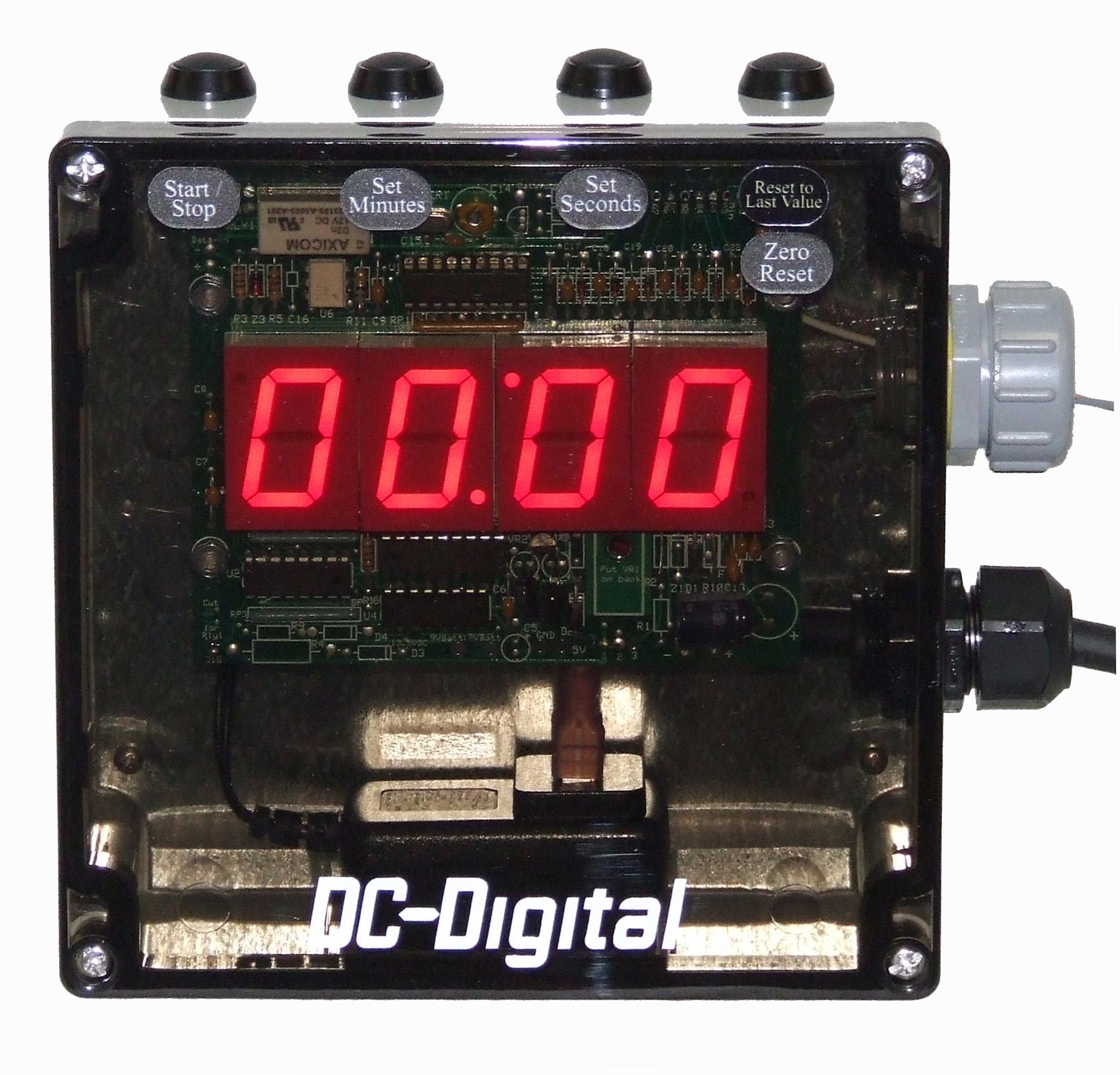 DC-10T-DN 4 digit countdown timer with nema 4x enclosure
