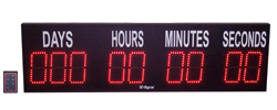 6 inch LED Digital countdown to an event timer days hours minutes and seconds