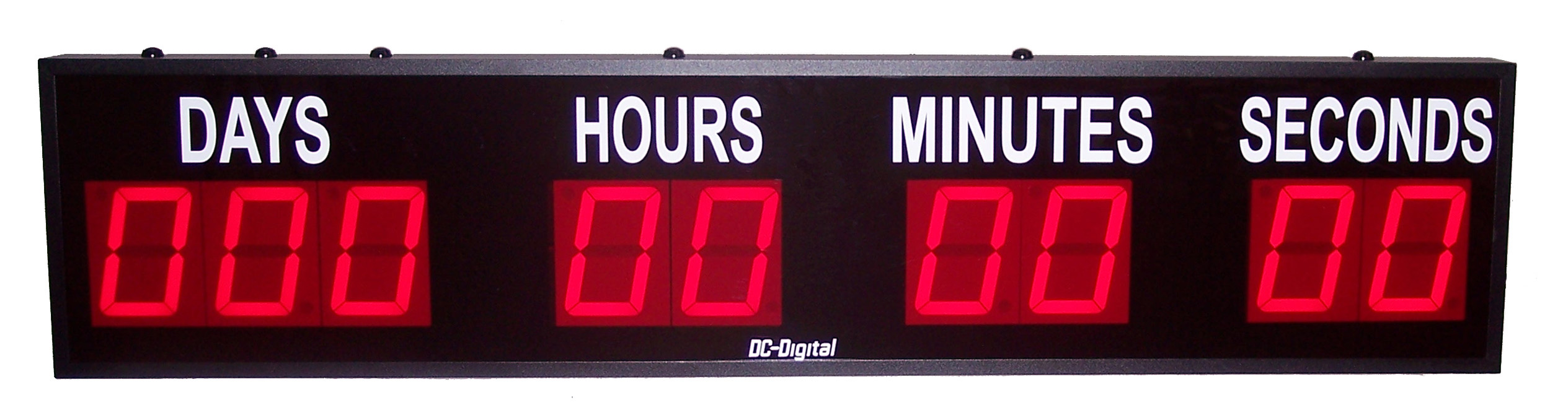 countdown the days hours minutes and seconds to a special event 4 inch digits