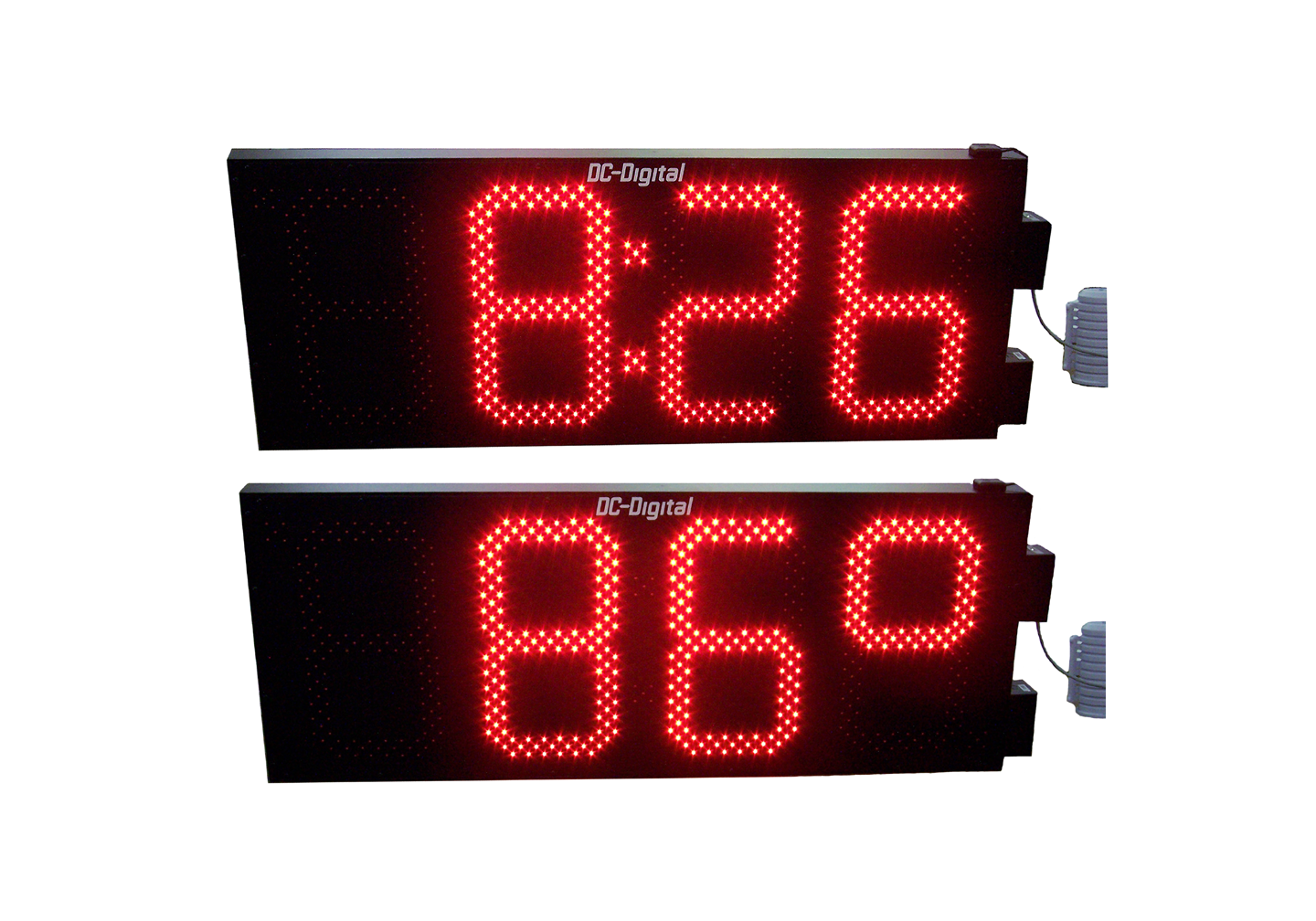 15 Inch LED Digital GPS Atomic Time and Temperature Display