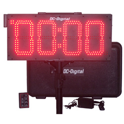 DC-80UTW-BTC Portable Battery operated Race event timer