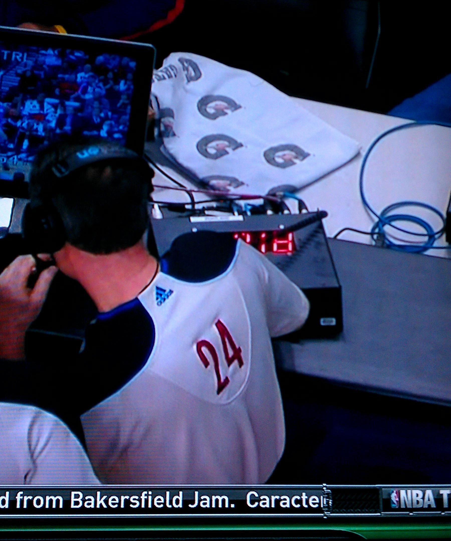NBA Referee decision timer countdown timer