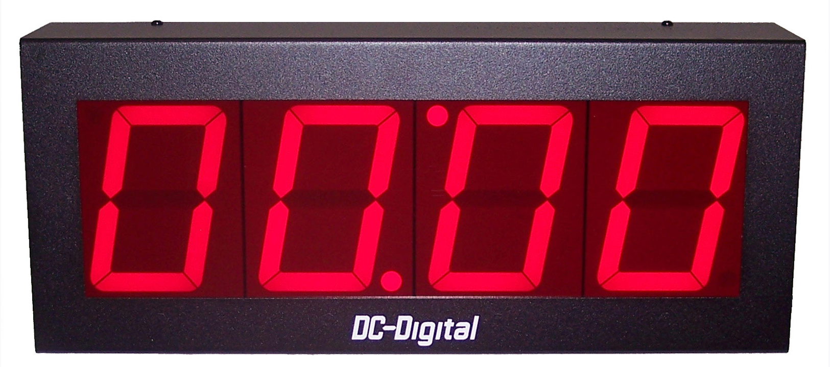 Static Number Display receives and displays only the numbers sent it through your network