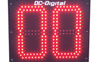 2-Digit, 8 inch outdoor Countdown timer with hard coded for 24 seconds