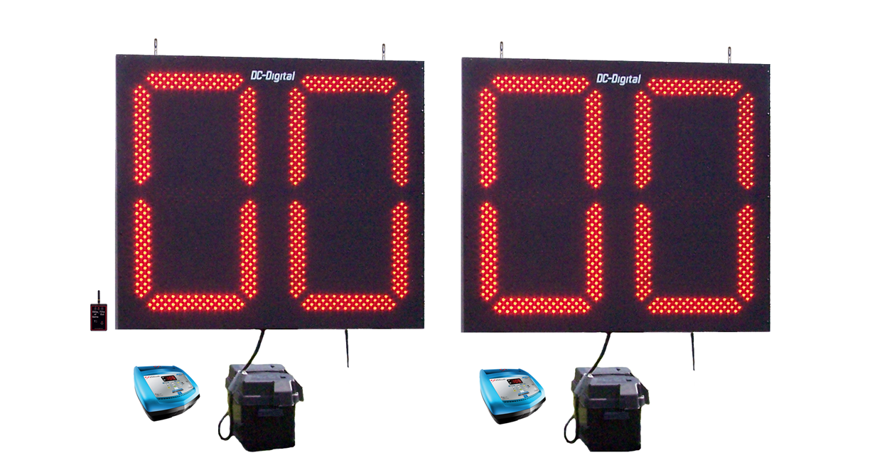 Stationary Football Play-Delay of Game Clocks-Timers