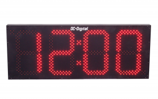 Digital LED Outdoor GPS Atomic Clock automatic set