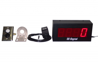 Complete Kit to Count and display objects within 10 ft. of the sensor. 2.3 Inch Display for viewing up to 120 Feet away