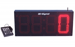 8 inch high output LED number display outdoor
