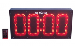 8 inch LED Digital wireless controlled countdown timer