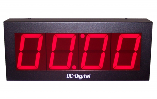 Computer controlled timer-static-display network