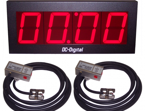 Vehicle Timer for Service Stations and Oil Change Garages