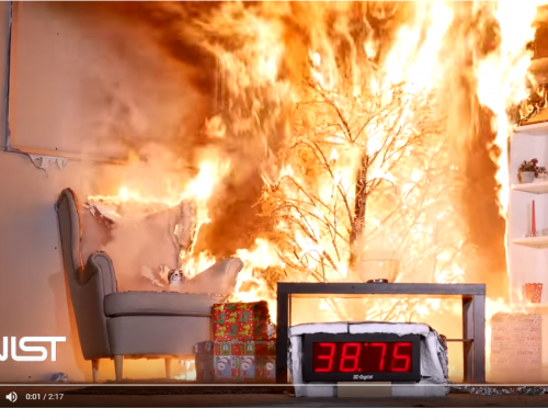 Water Your Live Christmas Trees: Christmas tree fire timer