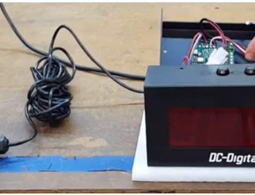 Local and Remote Controlled Counter-Display