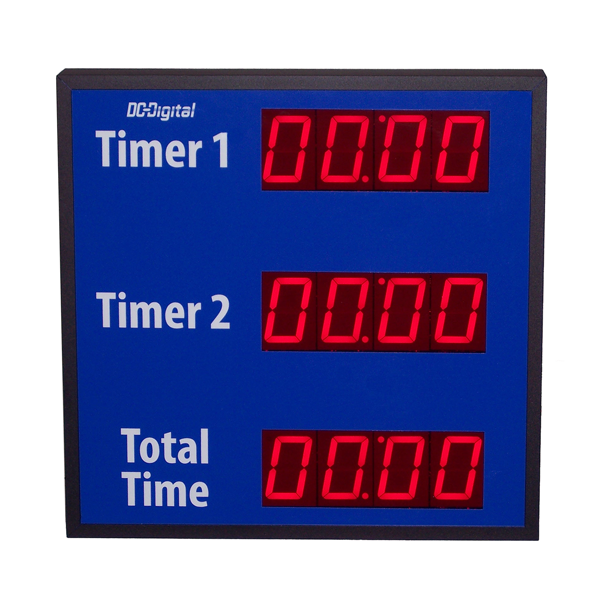 2 timers in 1 with total time for dual assembly line processes