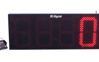 15 Inch LED Digital wireless number display