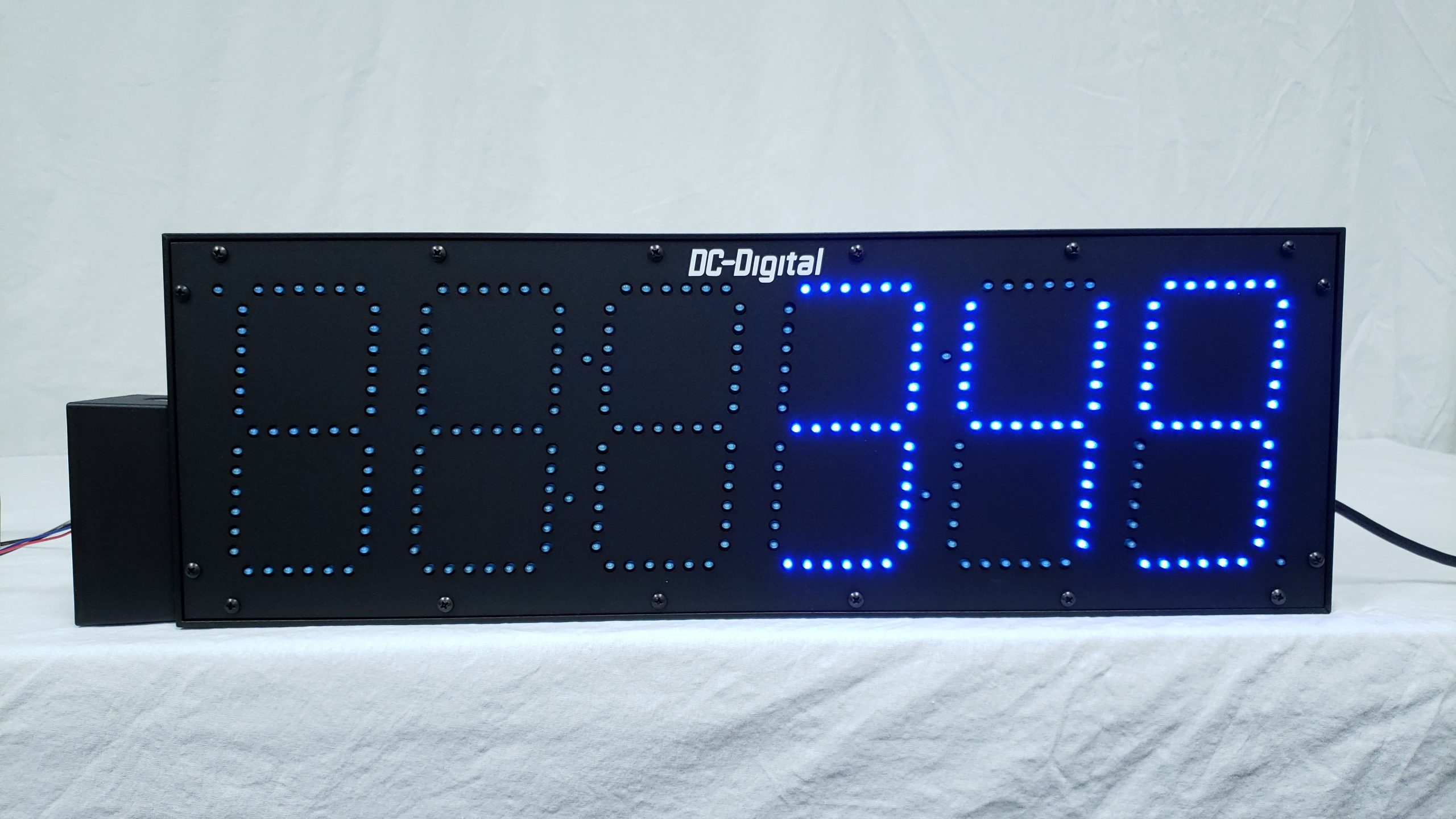 DC-606C-BLUE 6 Digit 6 inch Blue LED production counter